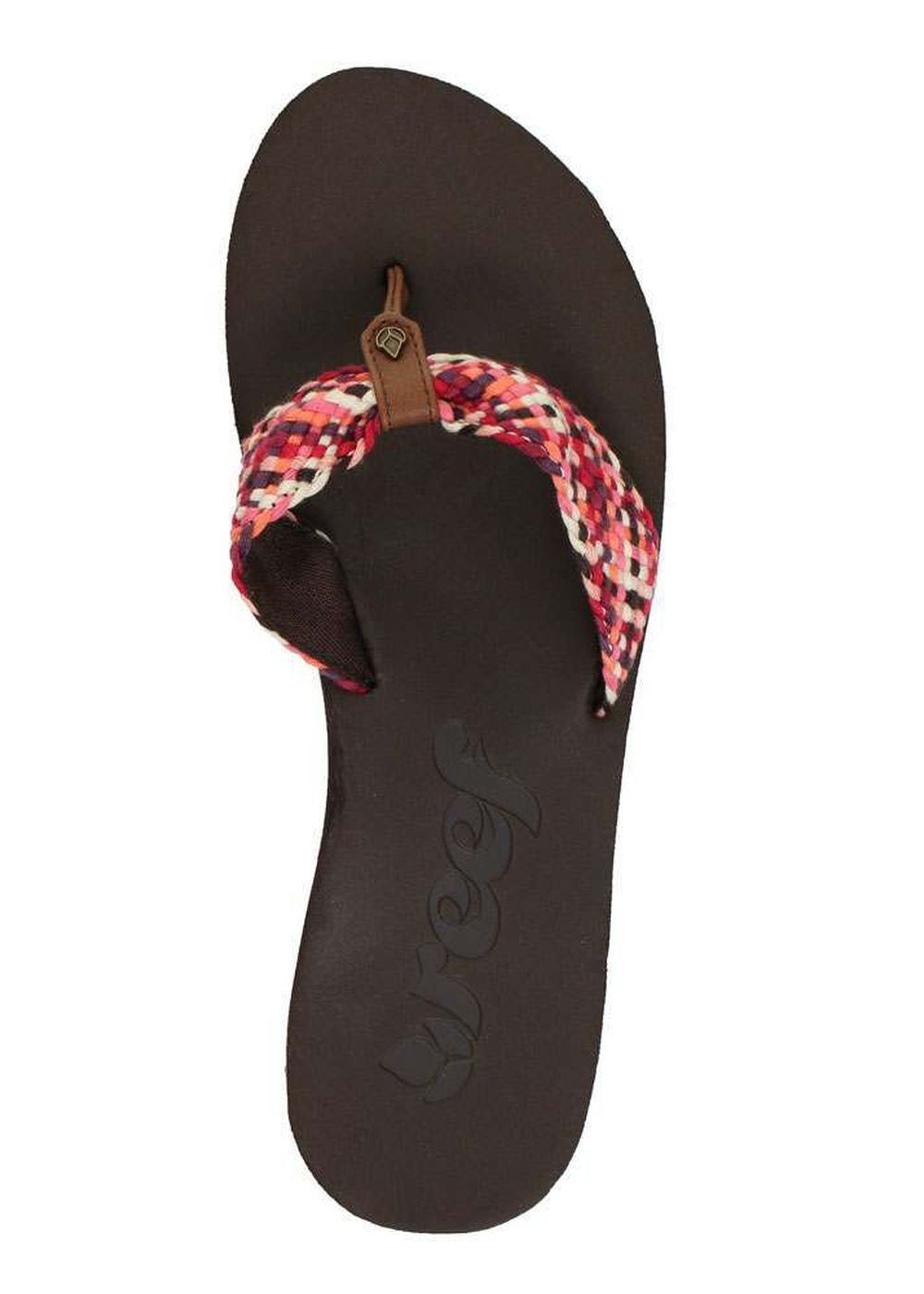 REEF MALLORY SCRUNCH SANDALS Brown/Pink