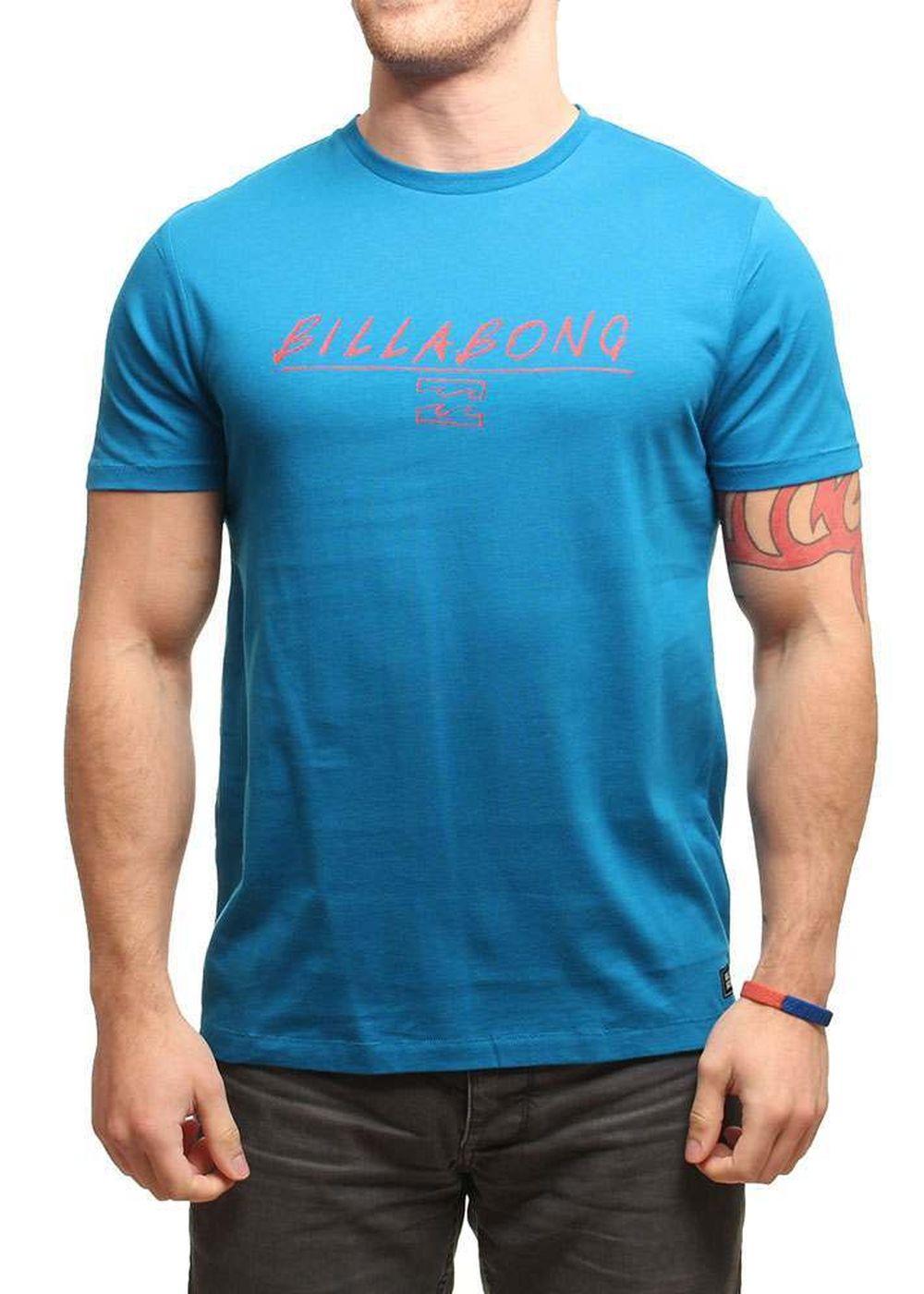 BILLABONG FREADMAN TEE Bright Blue