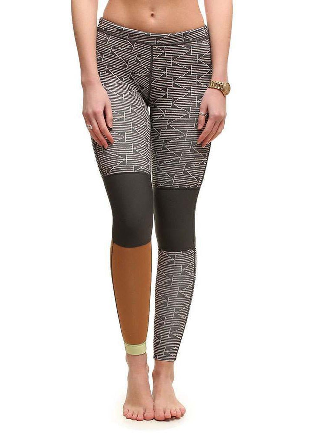 BILLABONG WOMENS SEA LEGS 101 1MM BOTTOMS 2015 Blk