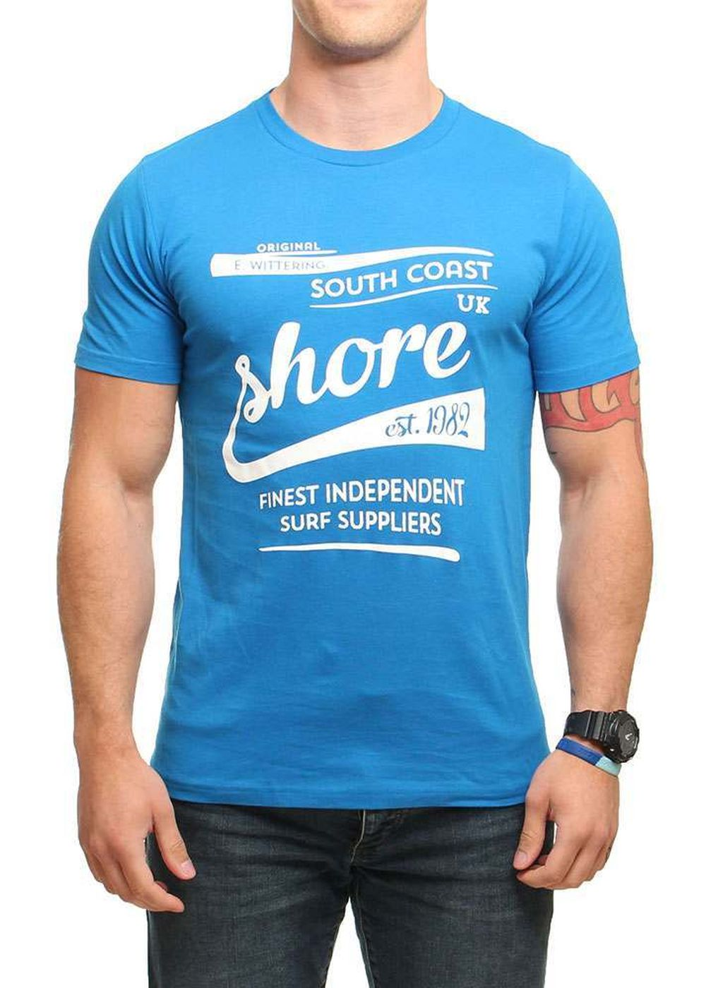 shore-script-tee-blue