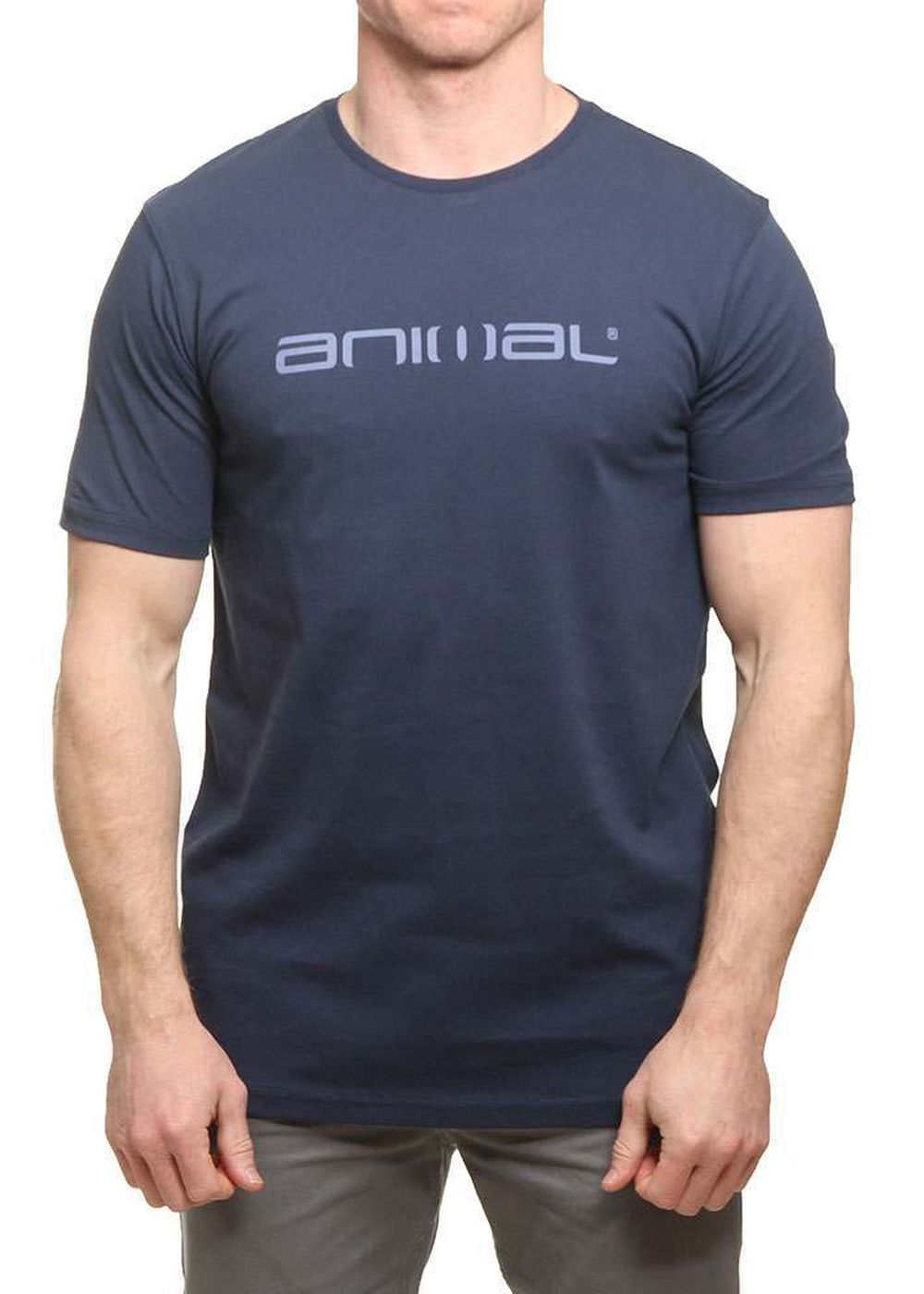 Animal Classico Tee Dark Navy