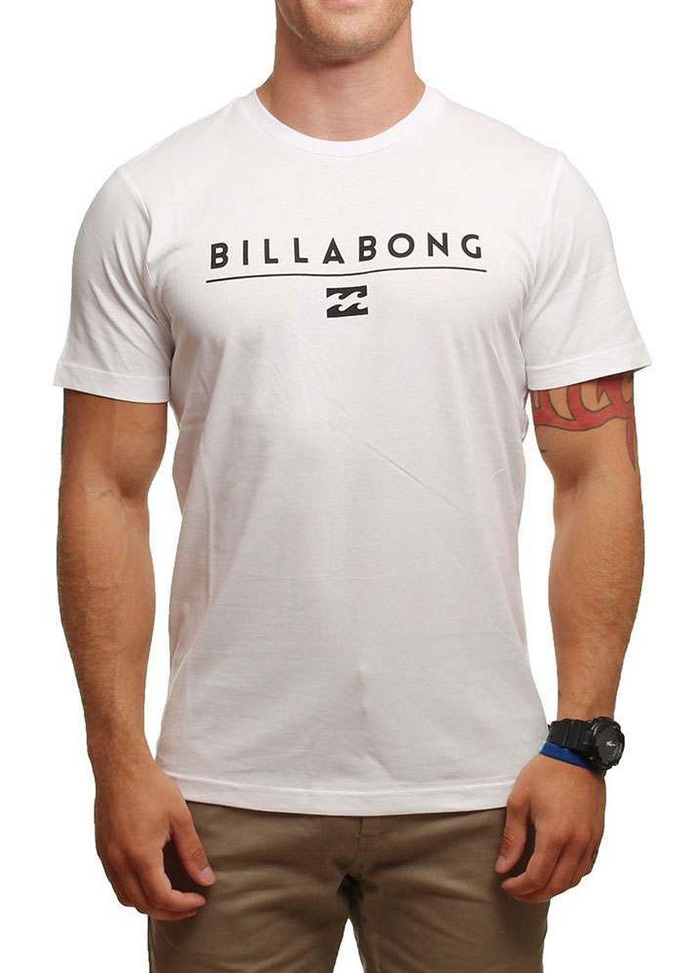 BILLABONG UNITY TEE White