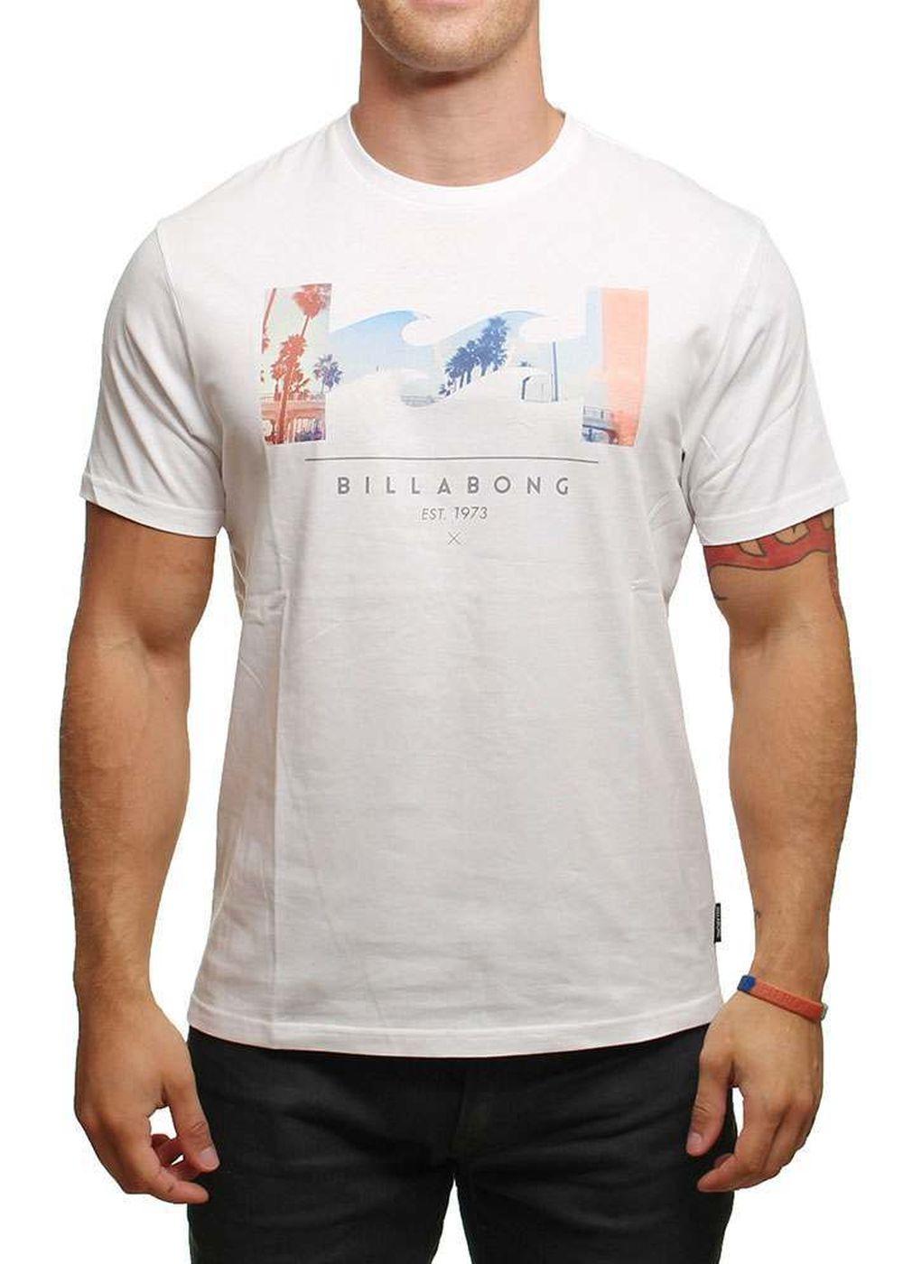BILLABONG TRAVERSE TEE White