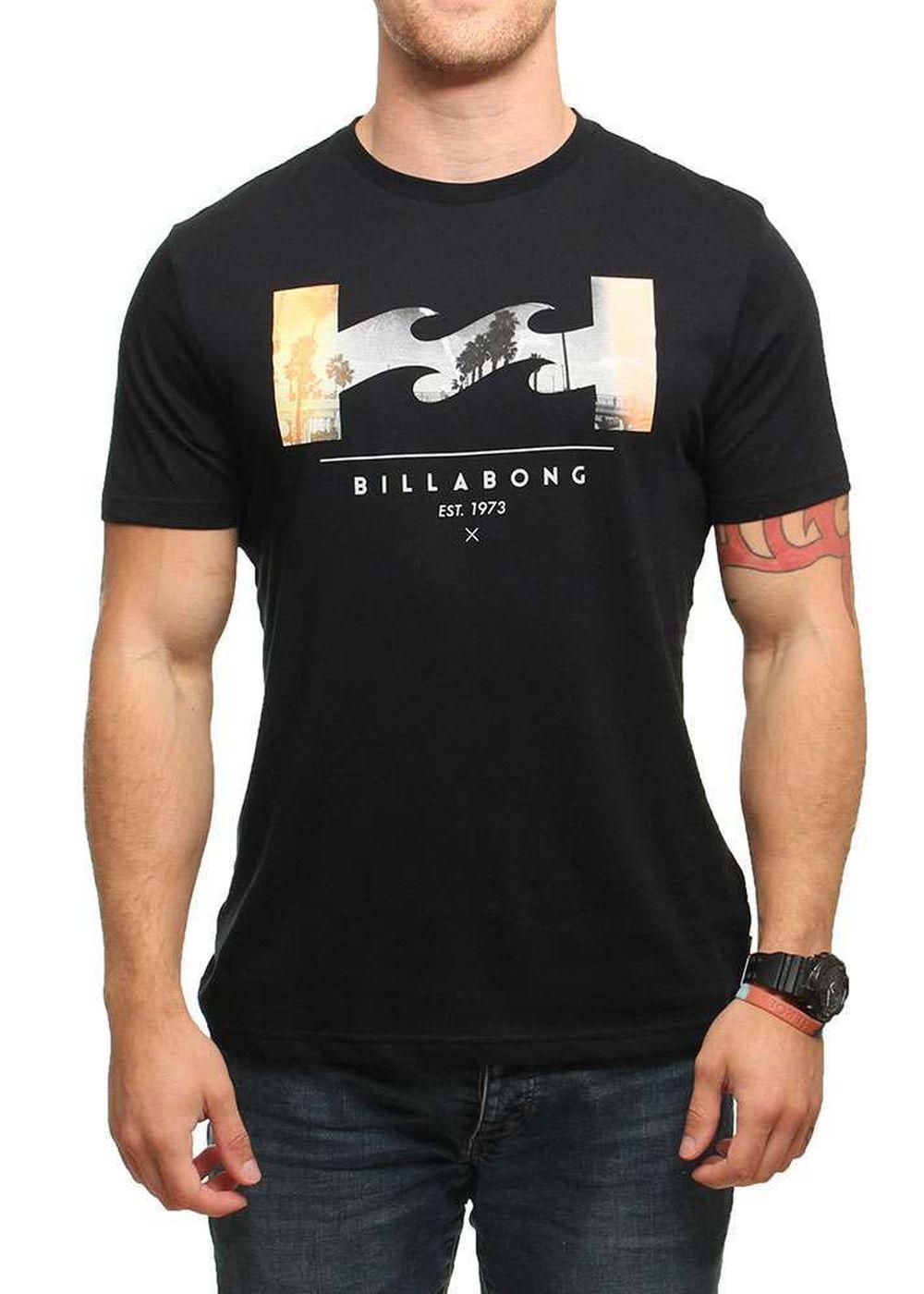 BILLABONG TRAVERSE TEE Black