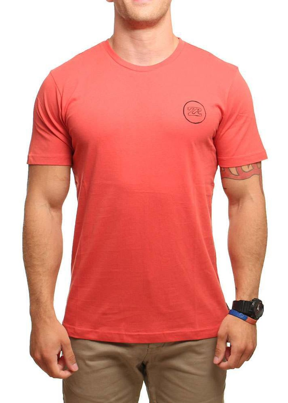 BILLABONG FREEHANDS TEE Coral