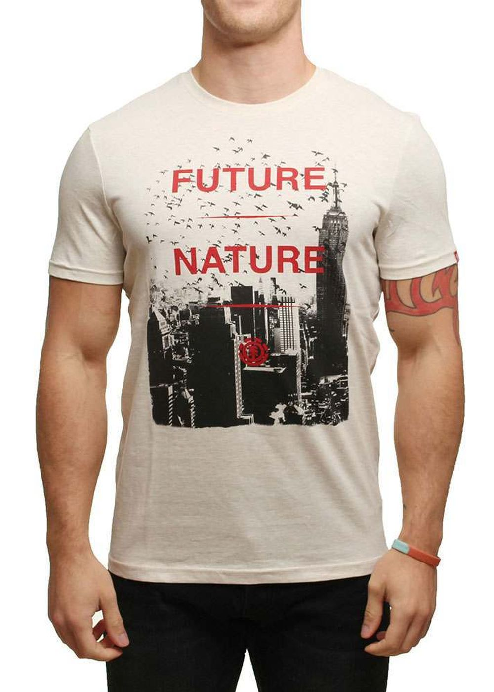 element-future-nature-tee-ivory-heather