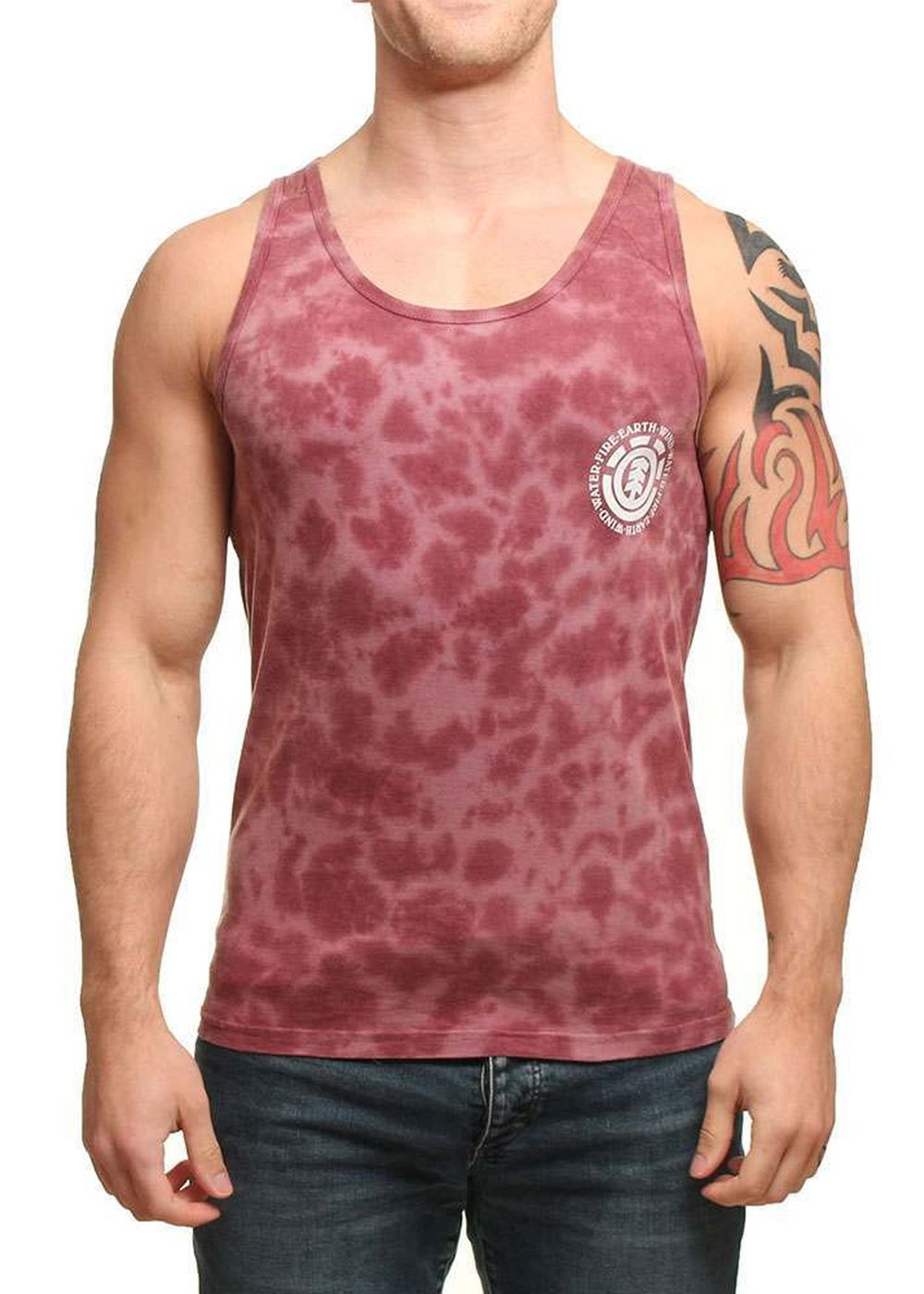 element-circle-cloud-tank-oxblood-red