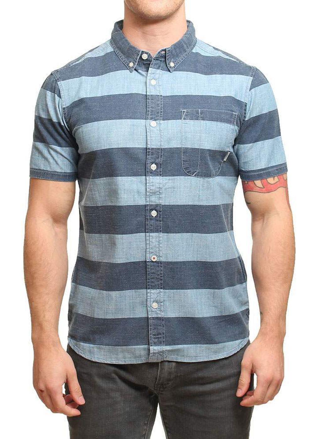 element-harris-ss-shirt-illusion-blue