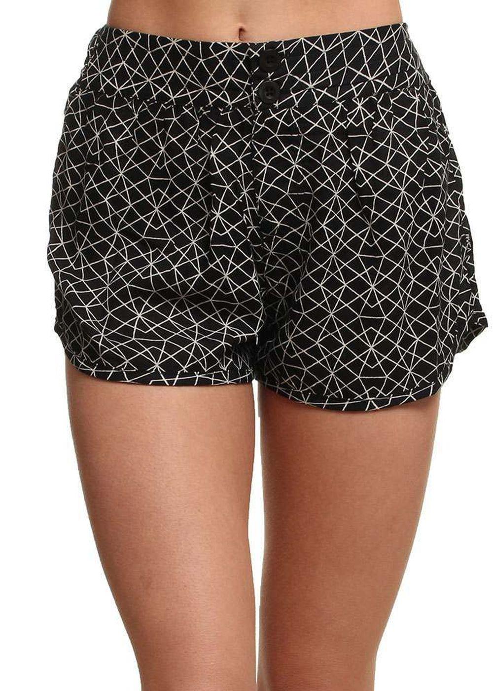 rvca-miser-shorts-black