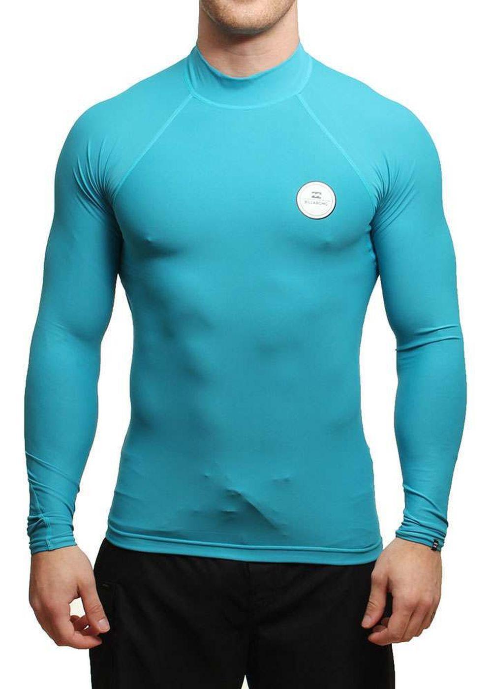 Billabong All Day Long Sleeve Rash Vest Blue Picture