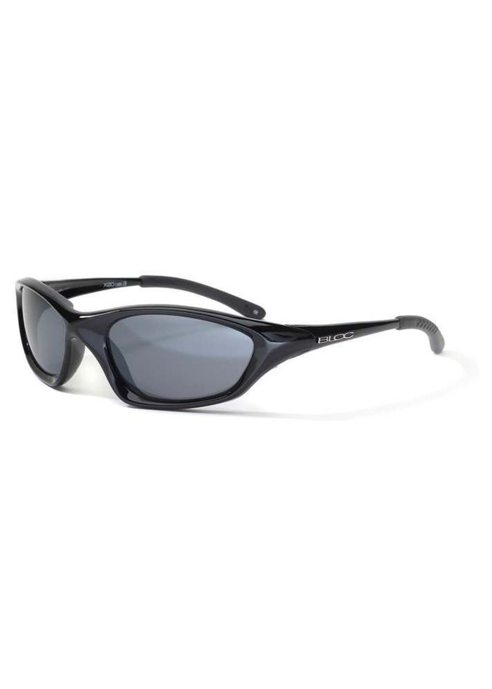 BLOC COBRA SUNGLASSES Shiny Black/Grey Flash