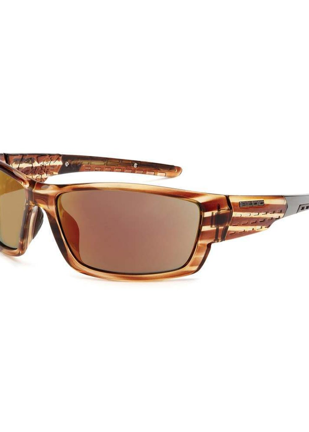 BLOC DELTA SUNGLASSES Crystal Brown/Red