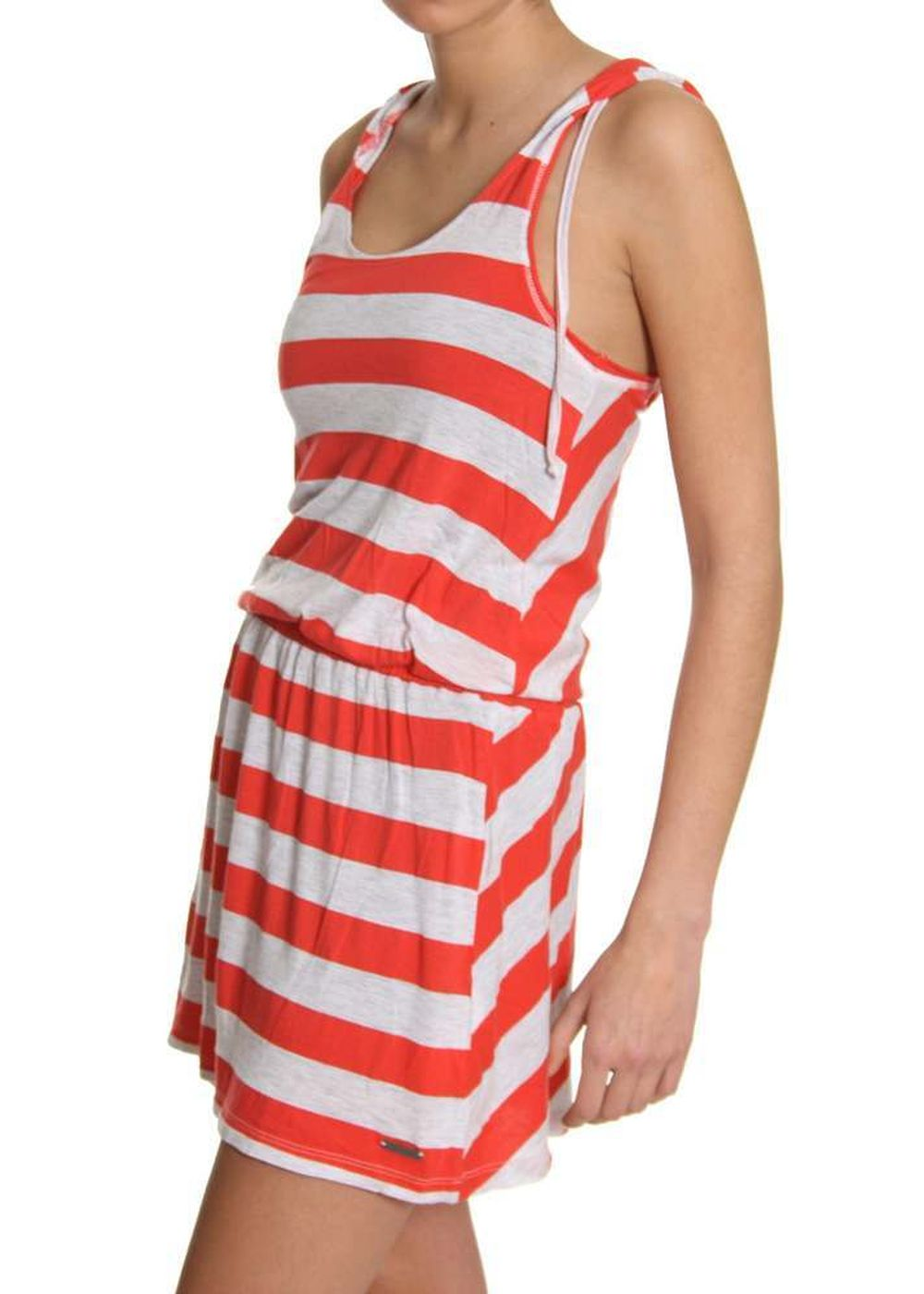ROXY IMAGINE HOODED DRESS Washed Red