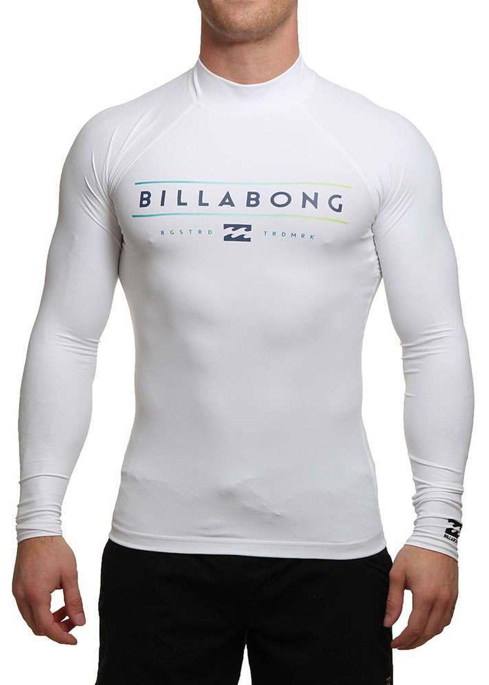 Billabong Unity Long Sleeve Rash Vest White Picture