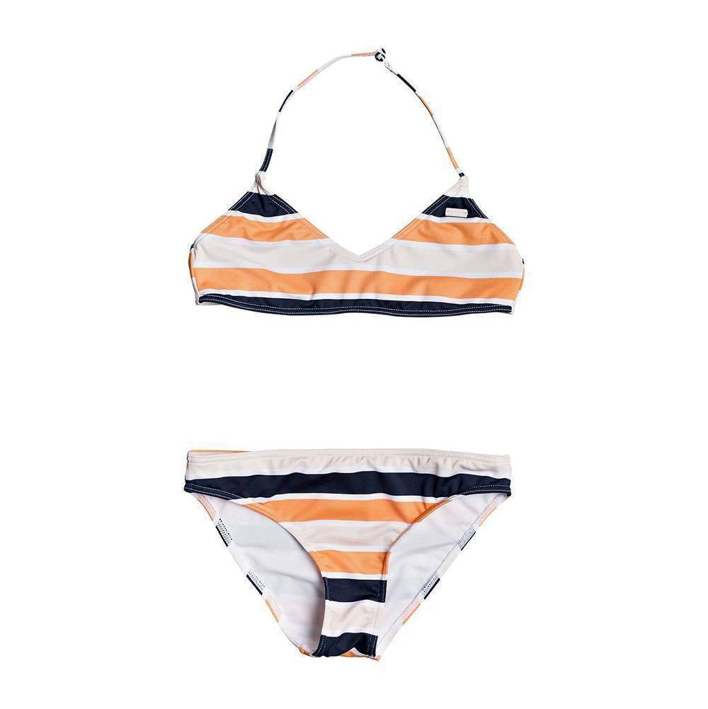Roxy Girls Roxy Sea View 4 Blue Indigo Wave Stripe 4