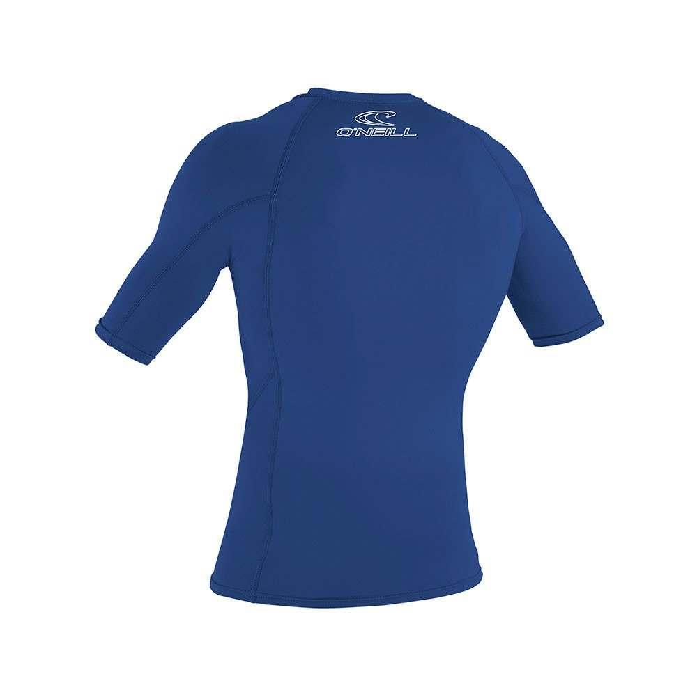 O/'Neill Wetsuits Men/'s Guard Basic Skins Short Sleeve Rash Vest L Black Large