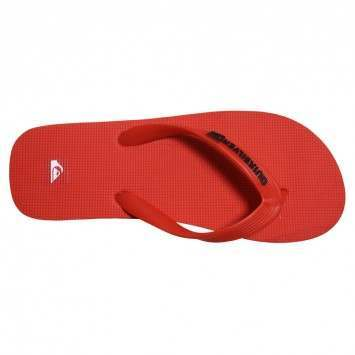 QUIKSILVER LITTLE MOLOKAI SANDALS Red/Black