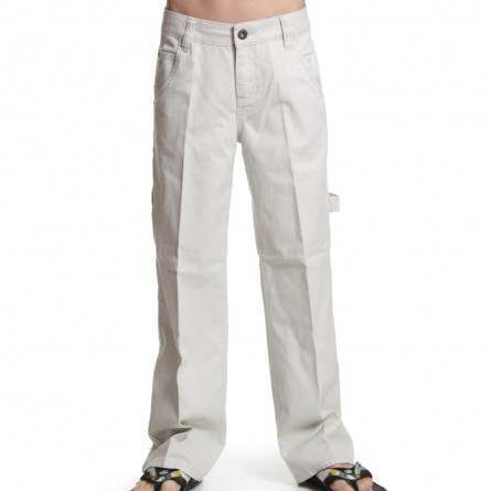 QUIKSILVER BOYS SHAPER FLAT PANTS Harbour