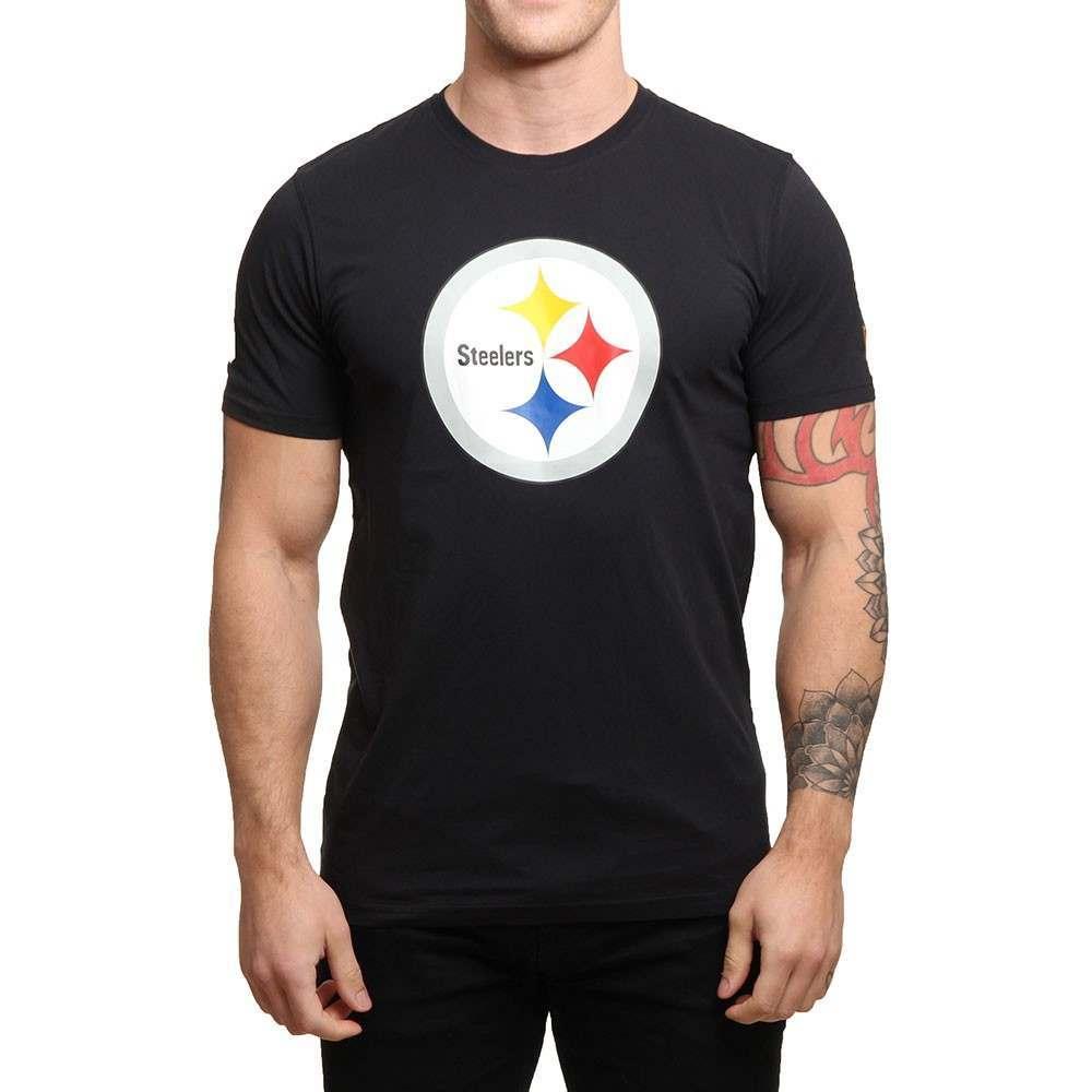 New Era NFL Pittsburgh Steelers Tee Black