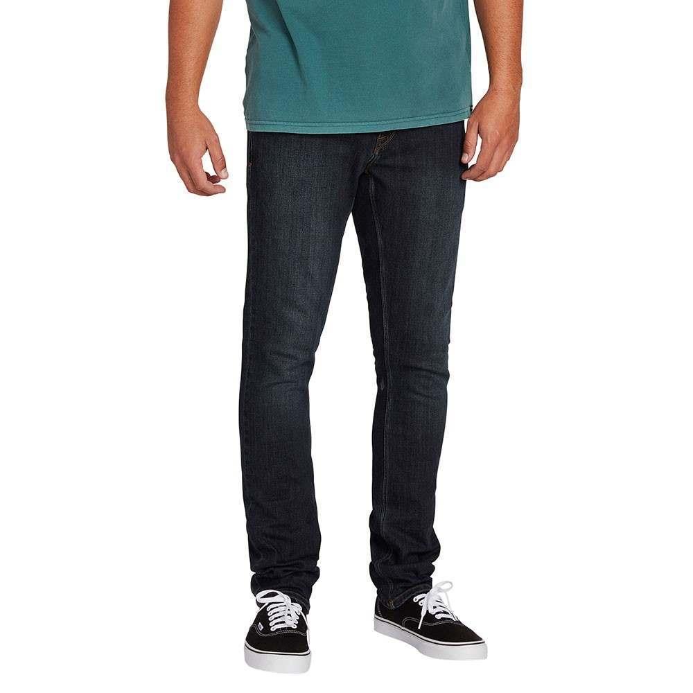 Volcom 2x4 Denim Jeans Vintage Blue