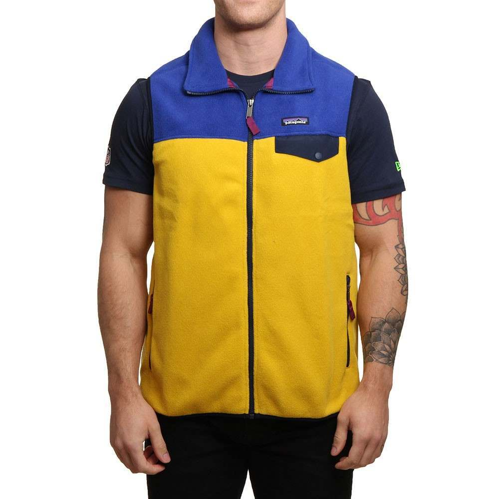 Patagonia Synchilla Snap-T Vest Sulphur Yellow