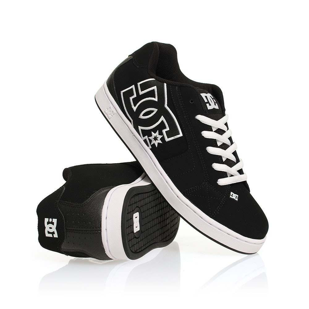 DC Net Shoes Black/Black/White