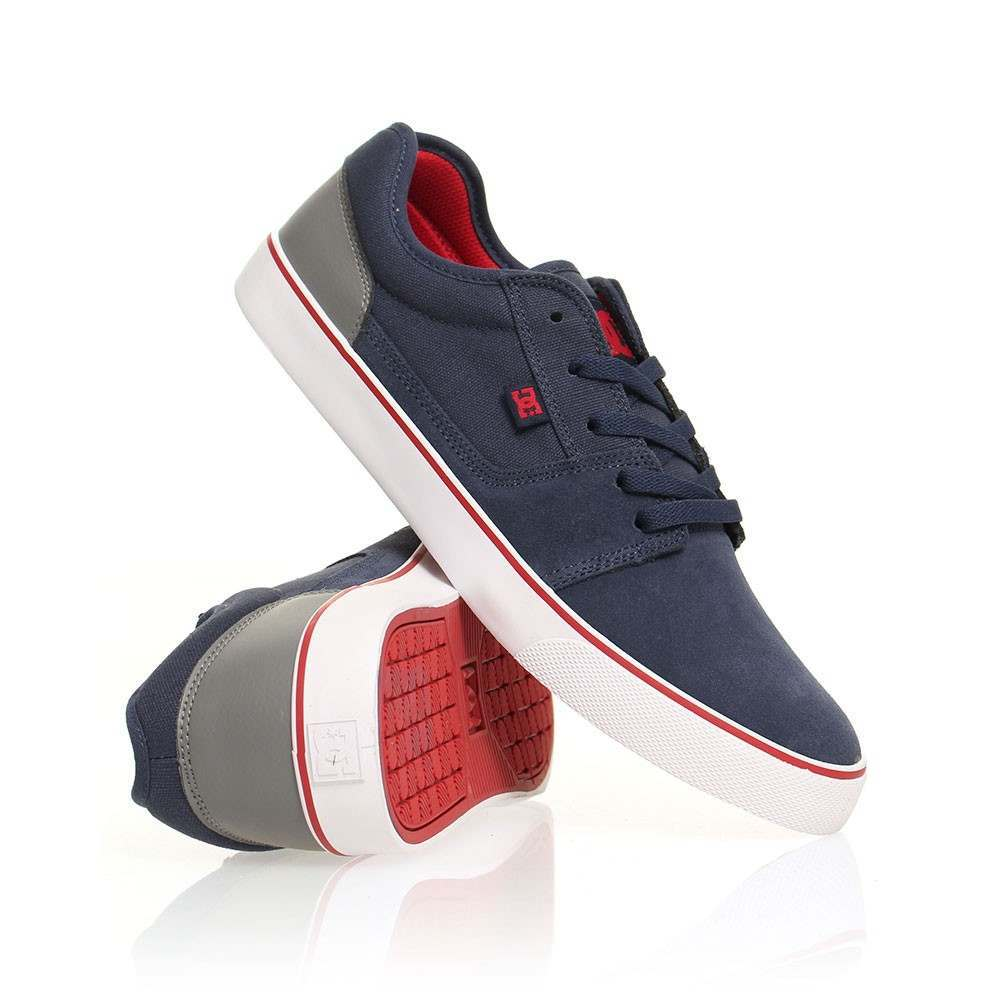 DC Tonik Shoes Navy/Grey