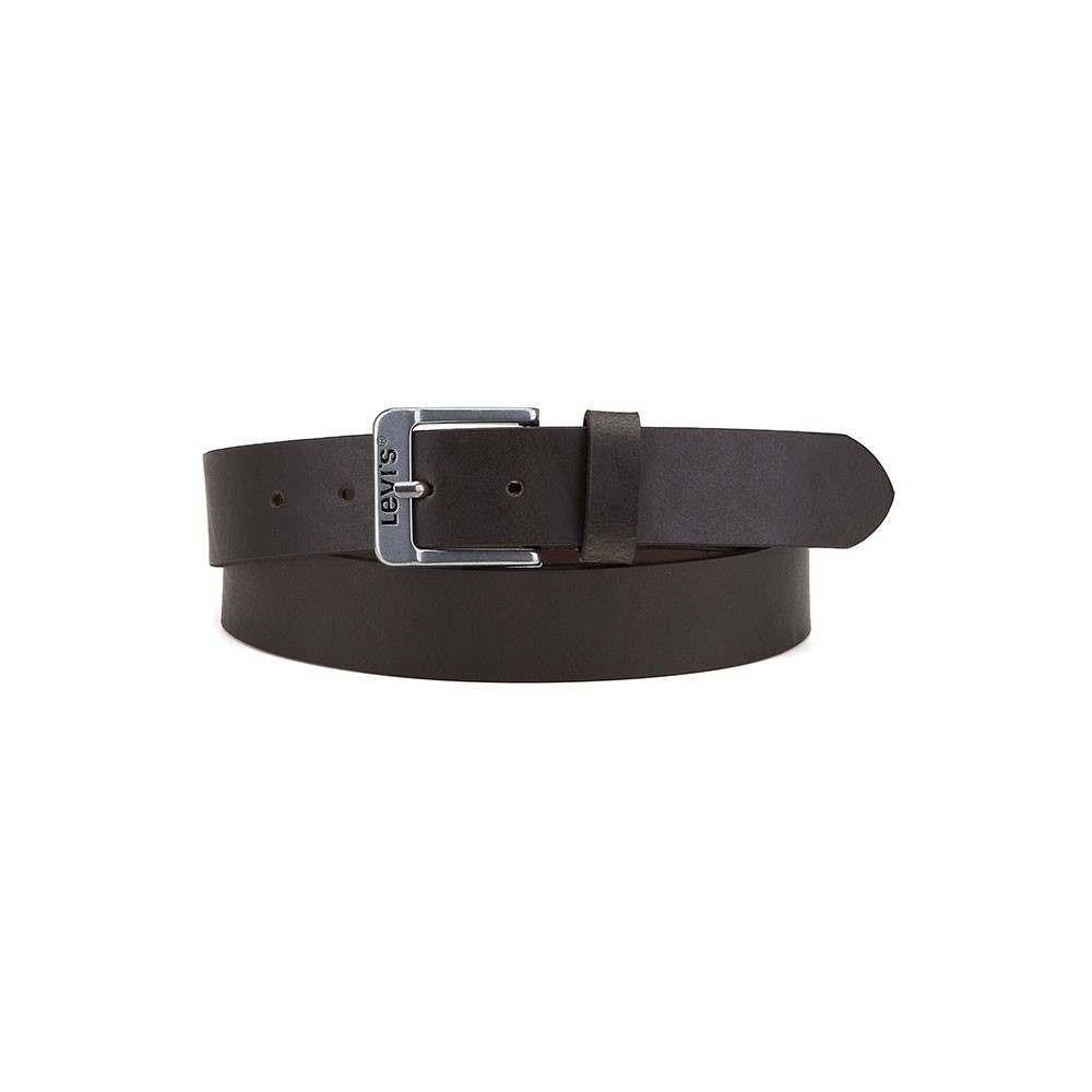 Levis Free Leather Belt Dark Brown