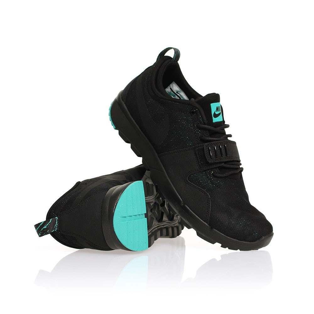 Nike SB Trainerendor Shoes Black/Jade