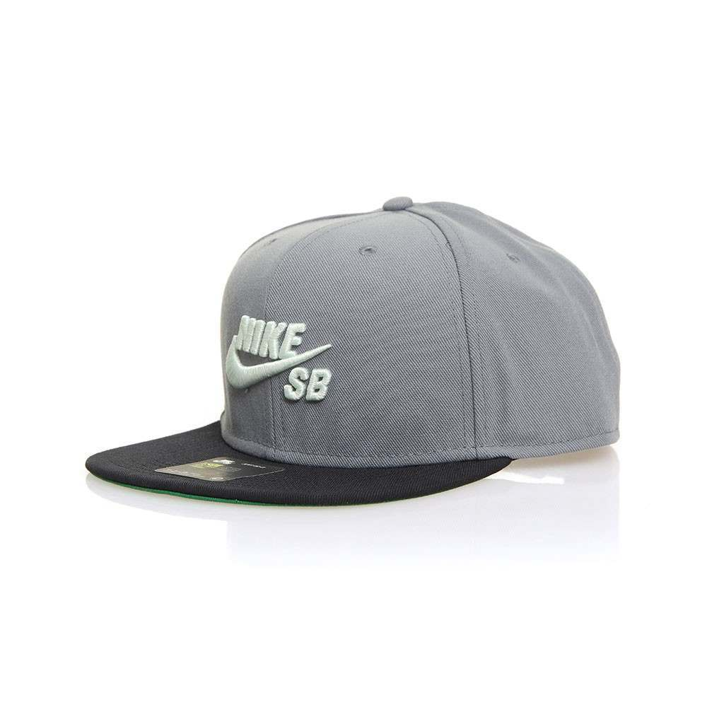 Nike SB Icon Pro Cap Cool Grey/Black/Pine Green