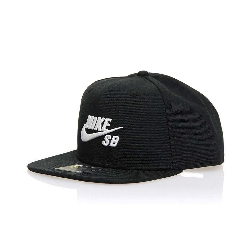 Nike SB Icon Pro Cap Black/Black/White