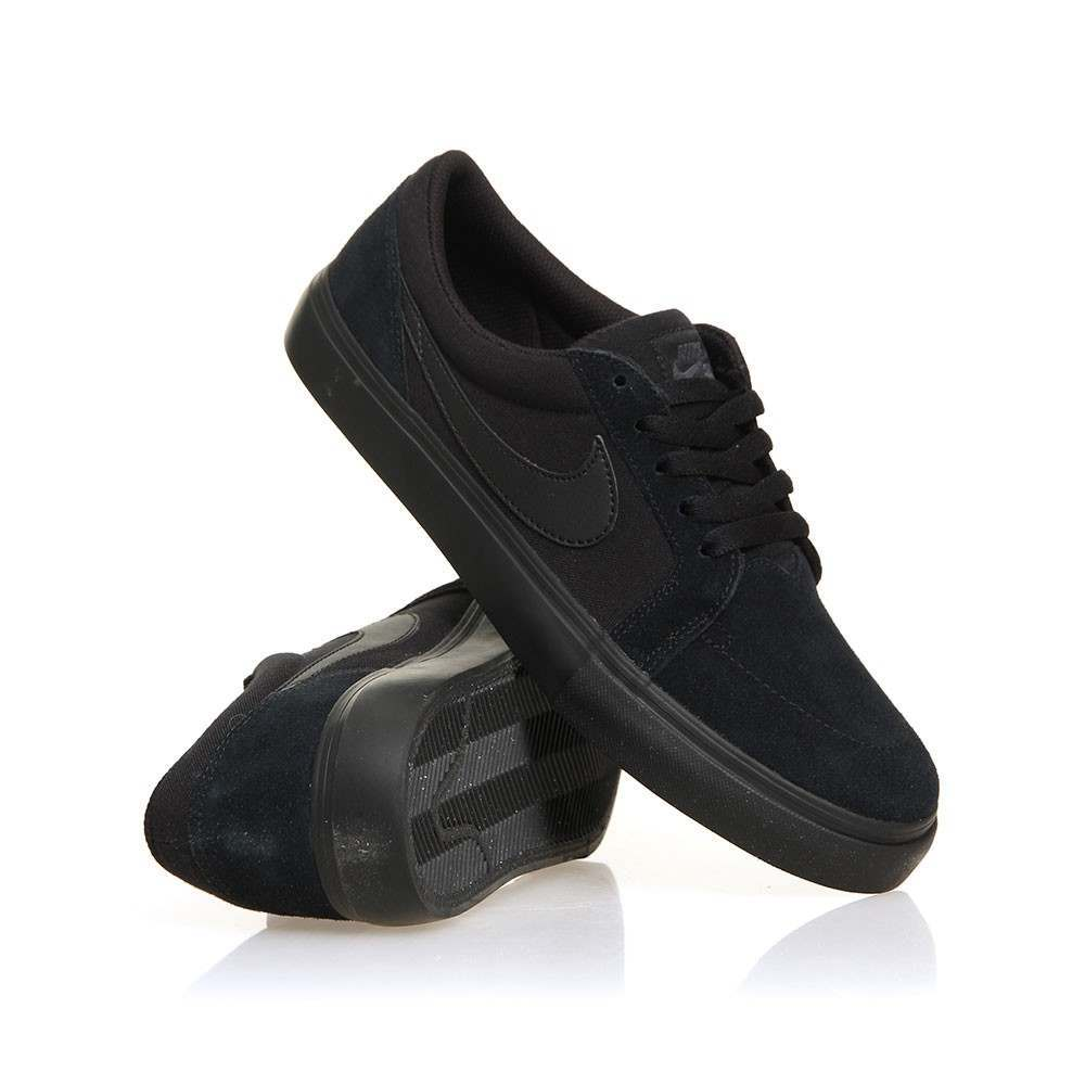 Nike SB Satire II Shoes Black/Black/Anthra