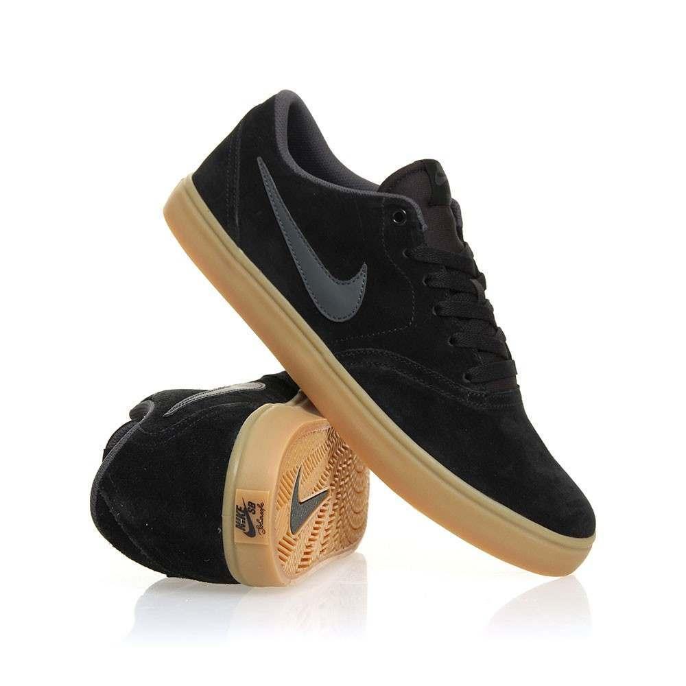 Nike SB Check Solar Shoes Black/Anthra-Gum