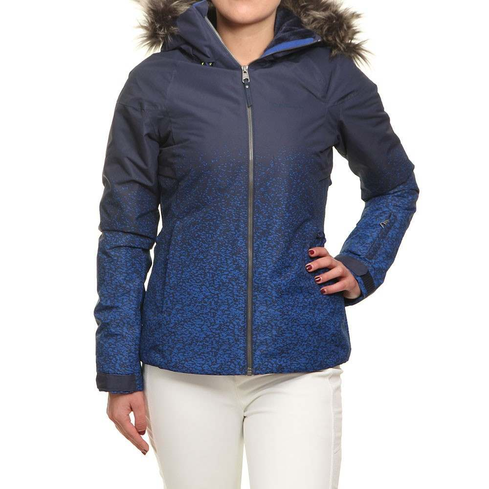ONeill Curve Snow Jacket Blue AOP/Blue