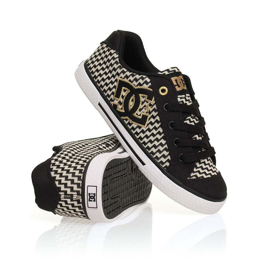 DC Chelsea TX SE Shoes Black/Gold