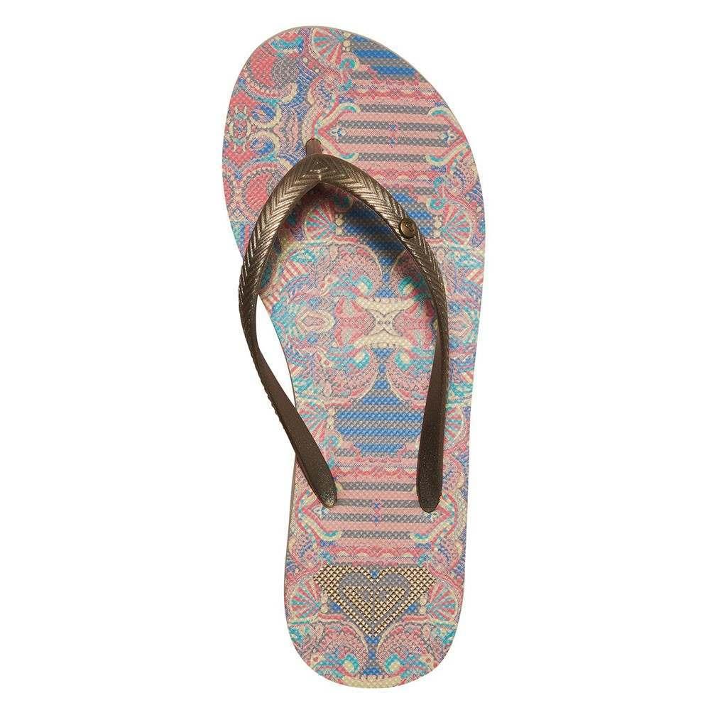 Roxy Bermuda Sandals Gold/Estate Blue