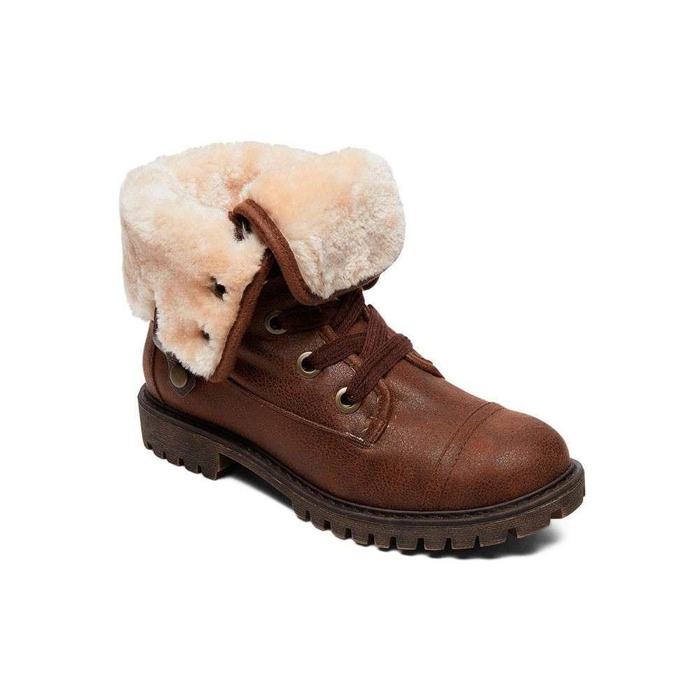 Roxy Bruna Boots Dark Brown