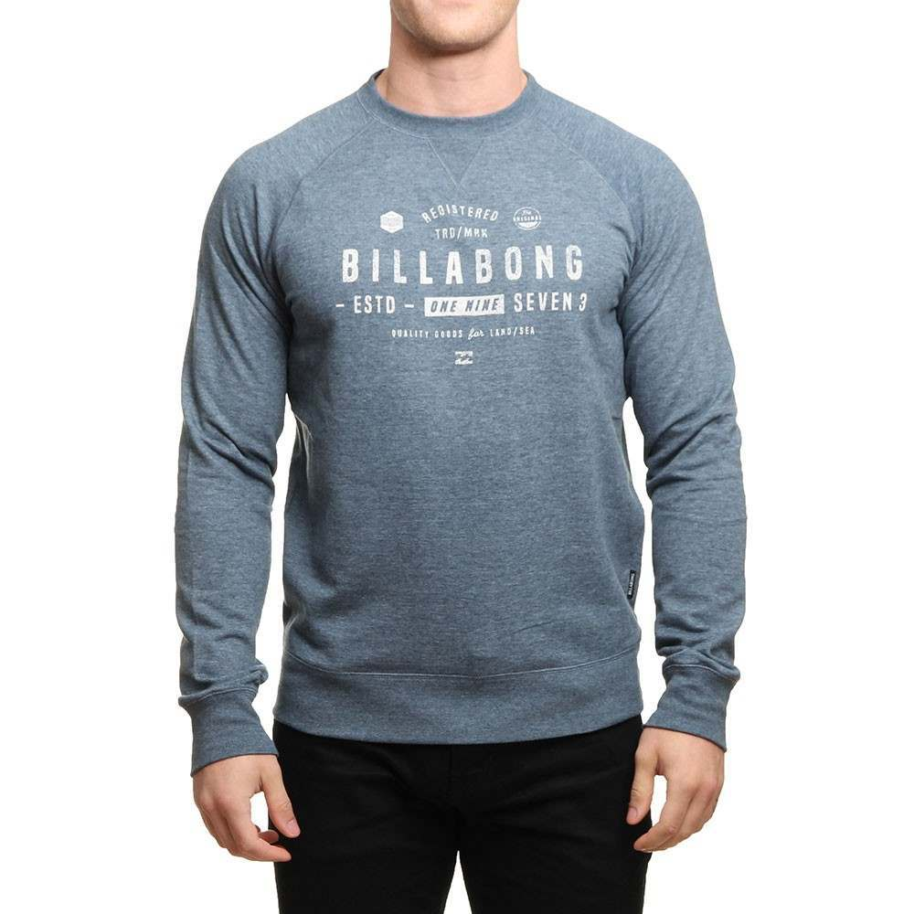 Billabong Watcher Crew Slate Blue