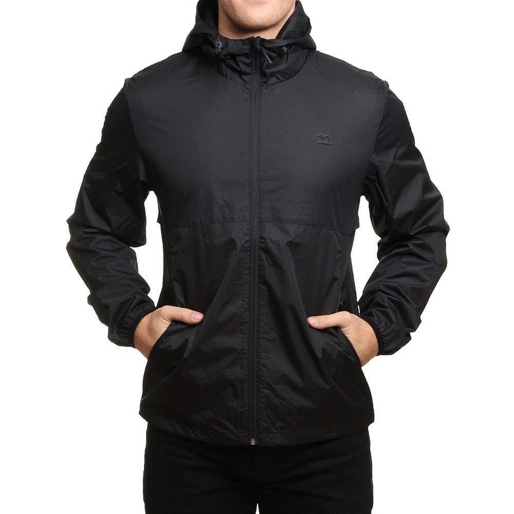 Billabong Transport Windbreaker Jacket Black