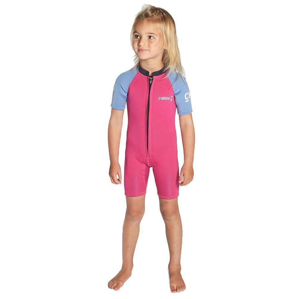 CSkins Baby Shorty Wetsuit Pink/Blue