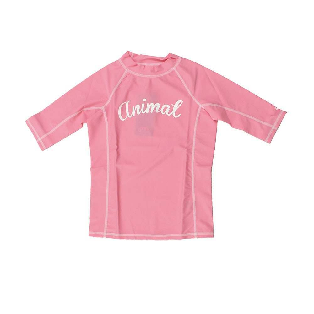 ANIMAL GIRLS PIPSI RASH VEST Bubblegum