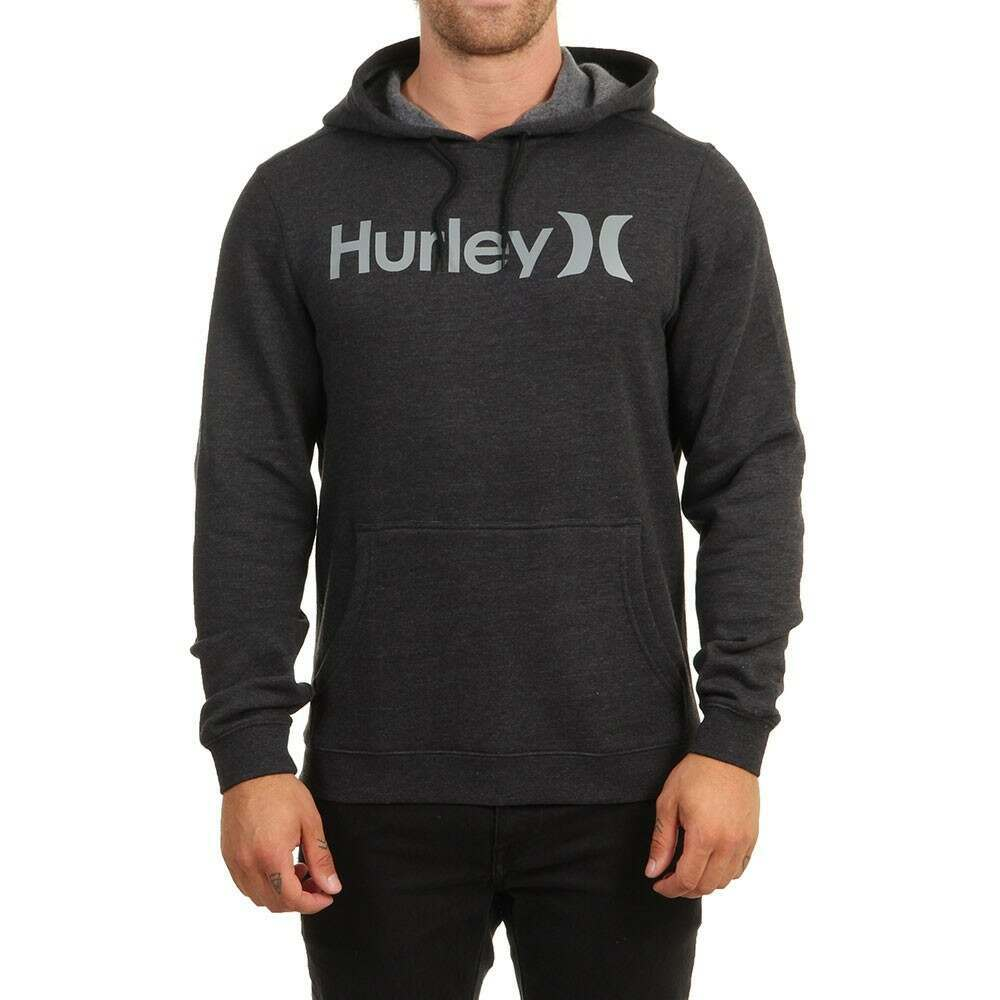 Hurley One and Only Hoody Black Heather