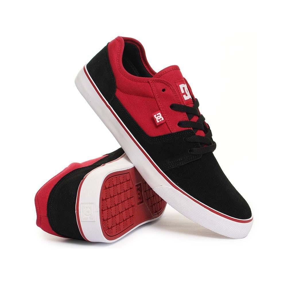 DC Tonik Shoes Black/Red