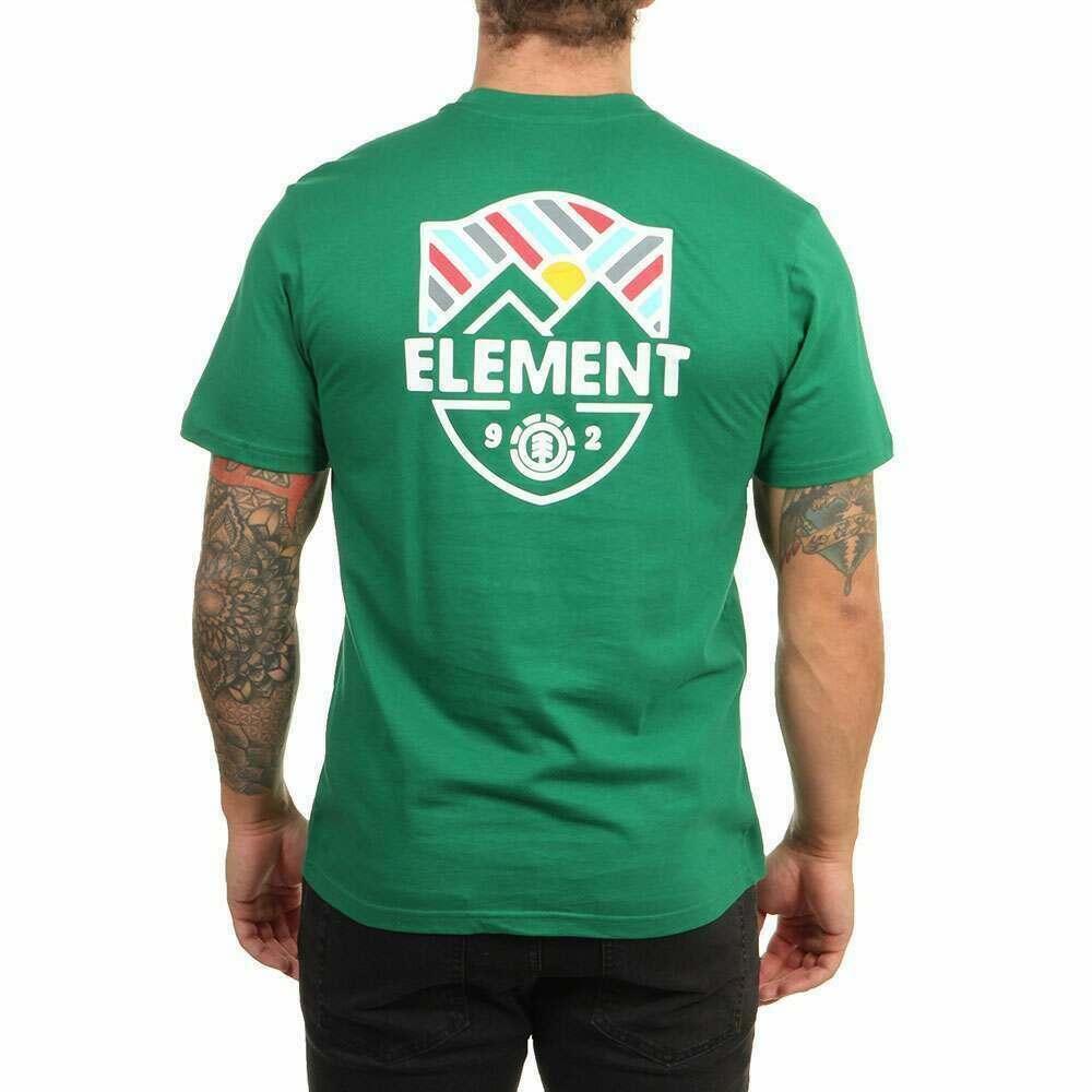Element Beaming Tee Verdant Green