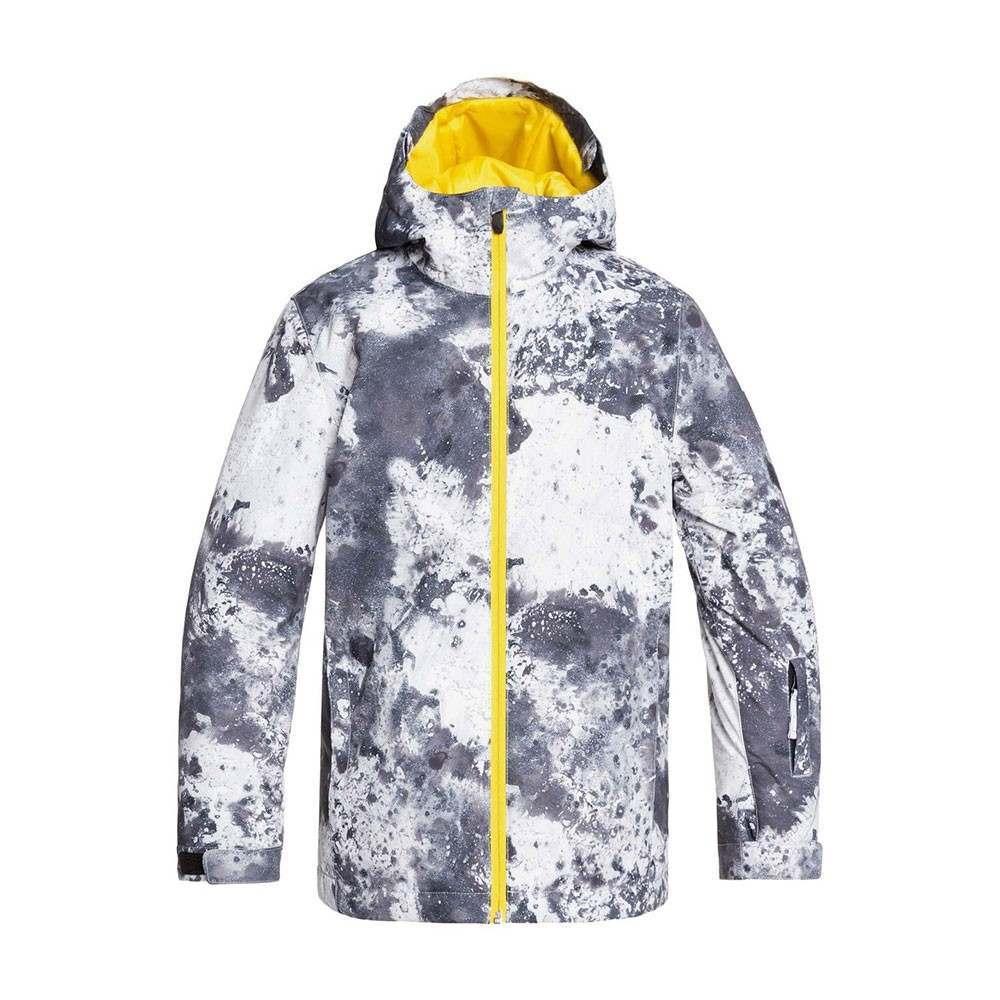 Quiksilver Boys Mission Print Snow Jacket Castle
