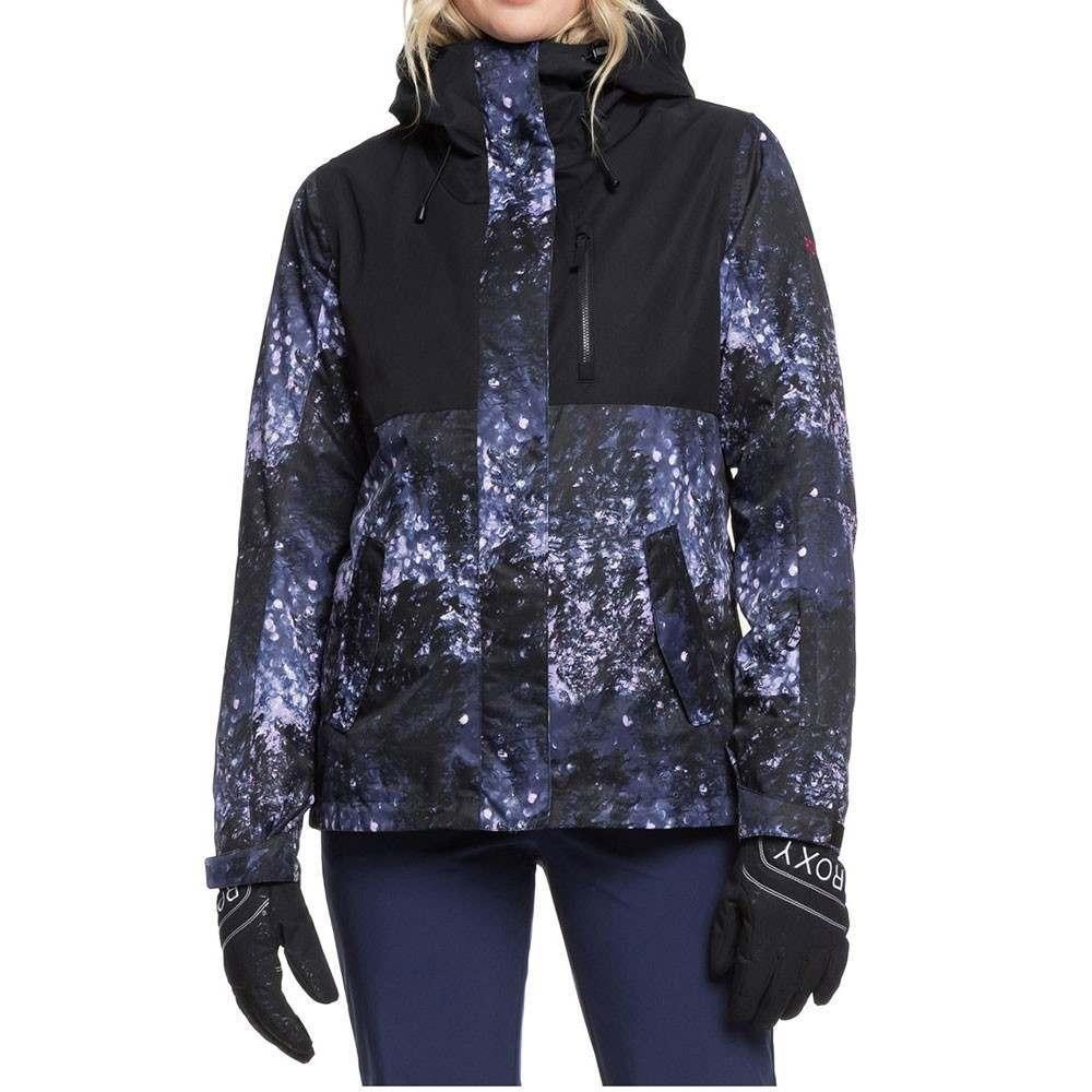 Roxy Jetty 3 in 1 Snow Jacket Blue Sparkles