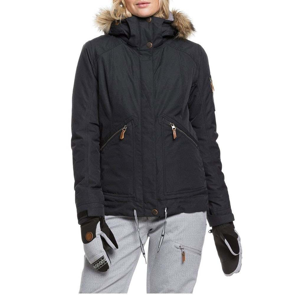Roxy Meade Snow Jacket True Black
