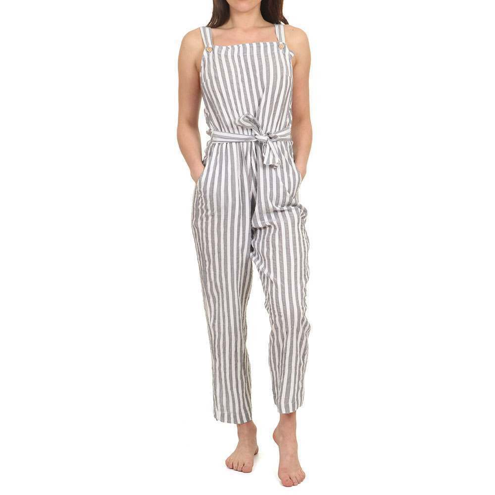 Roxy Another You Jumpsuit Indigo Stripes