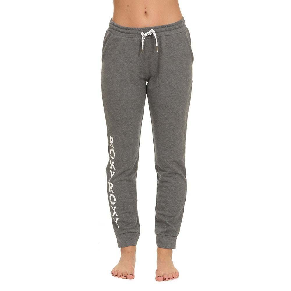 Roxy Waves Odity Track Pants Charcoal Heather