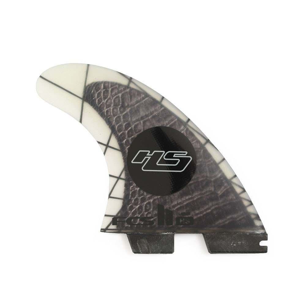 FCS 2 HS Performance Carbon Large Surfboard Fins